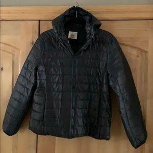 Women's Puffy Hooded Jacket